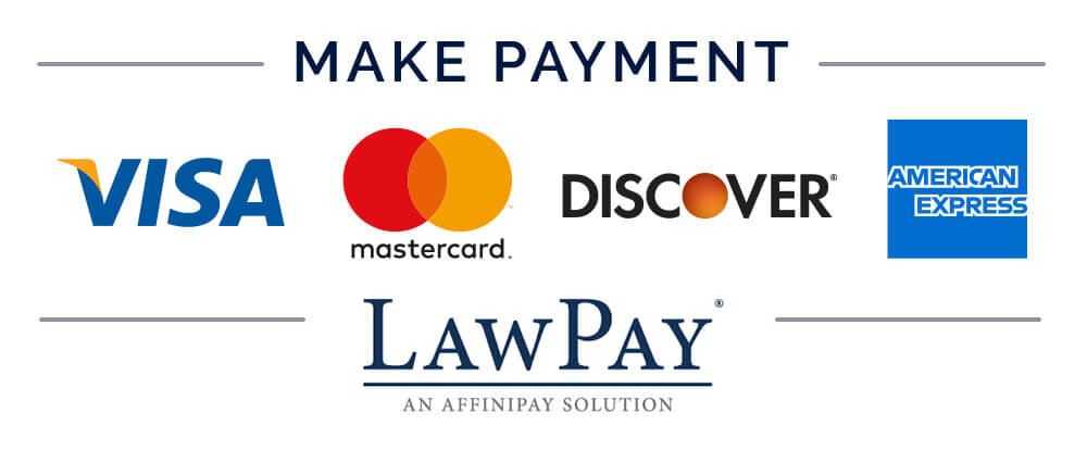 LawPay logo with credit card logos